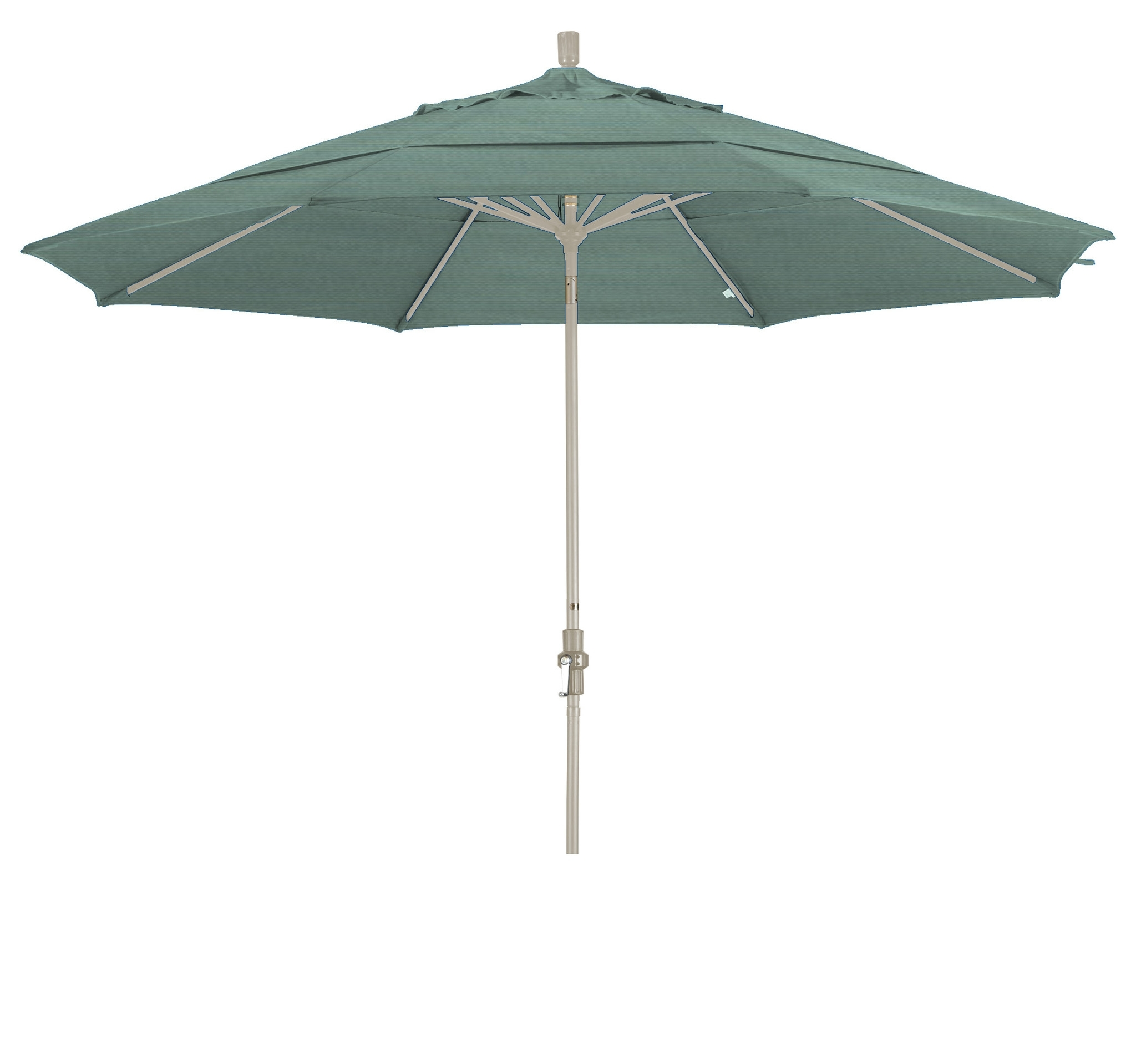 Eclipse Collection 11 Aluminum Market Umbrella Collar Tilt Dv Sand Within Latest Eclipse Patio Umbrellas (View 6 of 20)