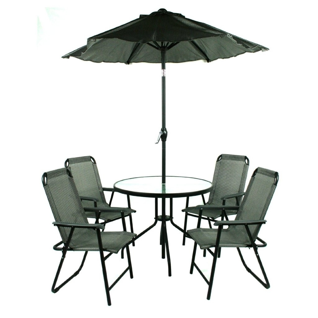 Eiyad With Regard To Patio Furniture With Umbrellas (View 7 of 20)