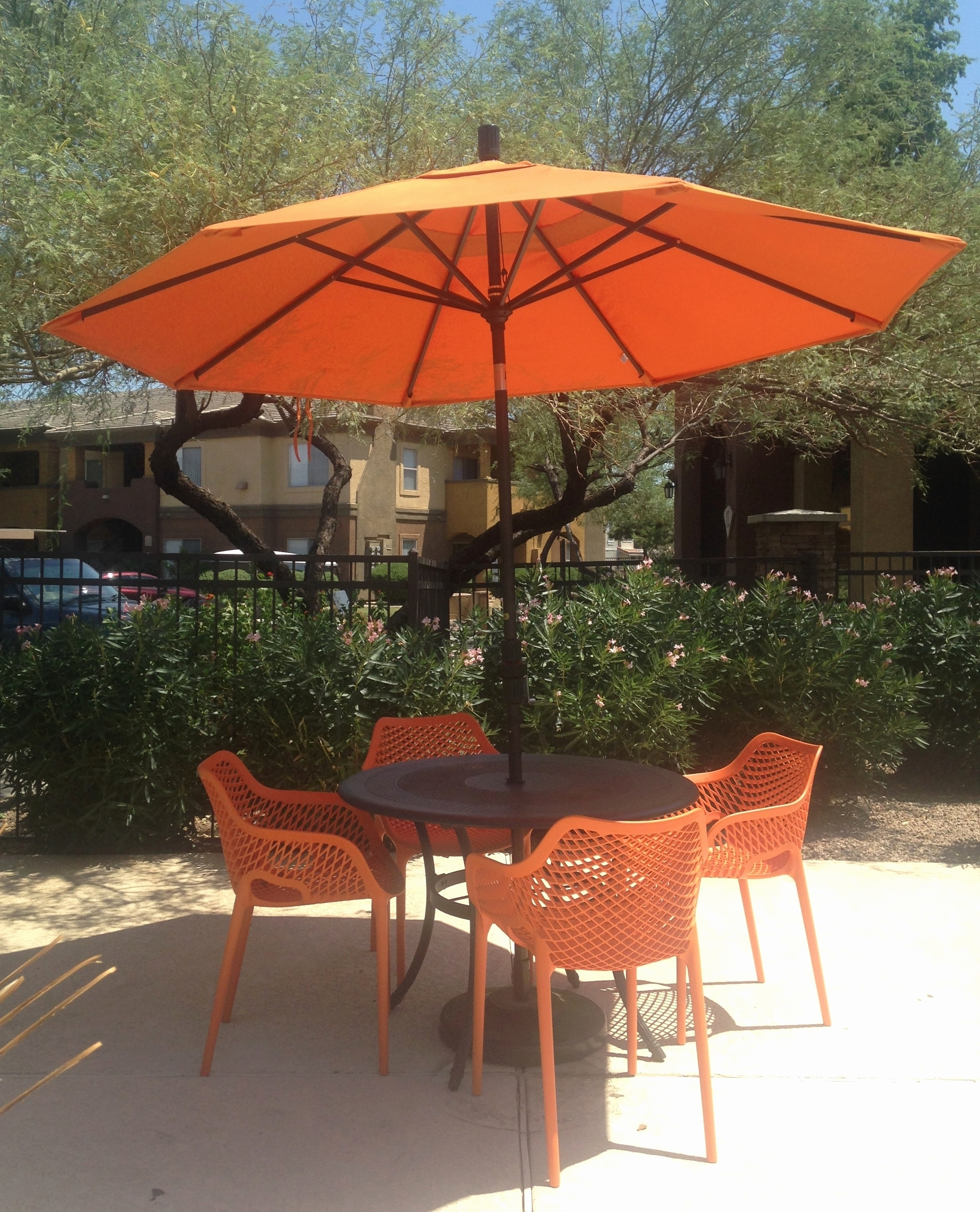 Featured Photo of Vinyl Patio Umbrellas With Fringe