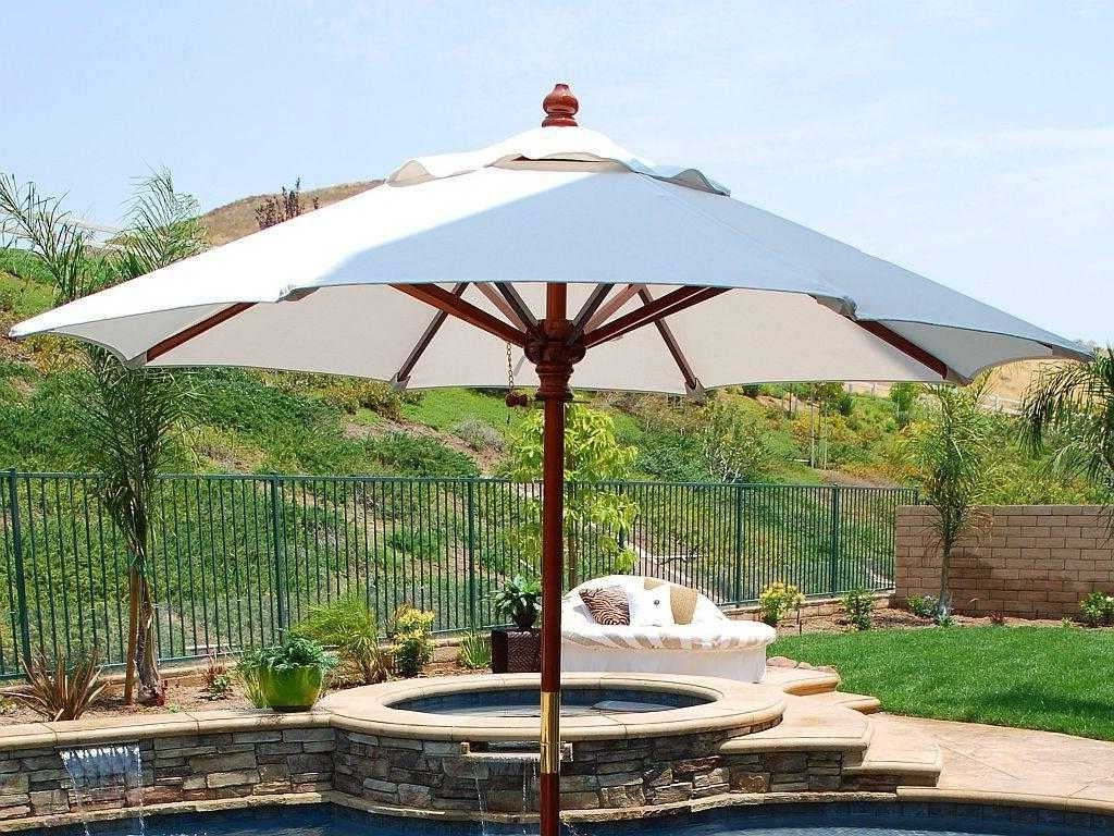 Extra Large Patio Umbrellas For Best And Newest Best Large Patio Umbrellas Ideas With Fascinating Extra Umbrella For (View 7 of 20)