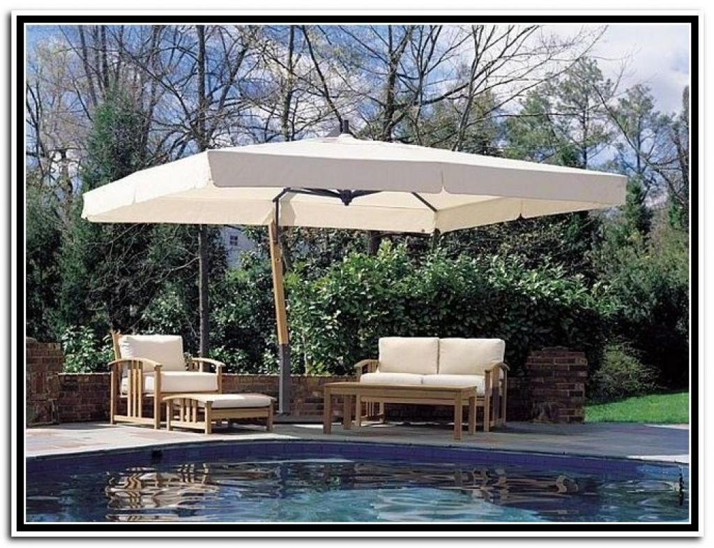 Extra Large Patio Umbrellas Throughout Trendy Sparkling Large Patio Umbrellas Style Large Patio Umbrella Outdoor (View 11 of 20)