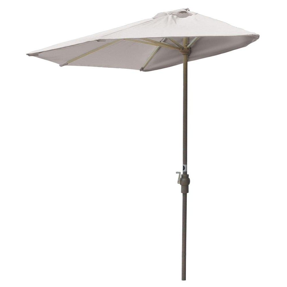 Famous Half Patio Umbrellas For Blue Star Group Off The Wall Brella 7.5 Ft (View 11 of 20)