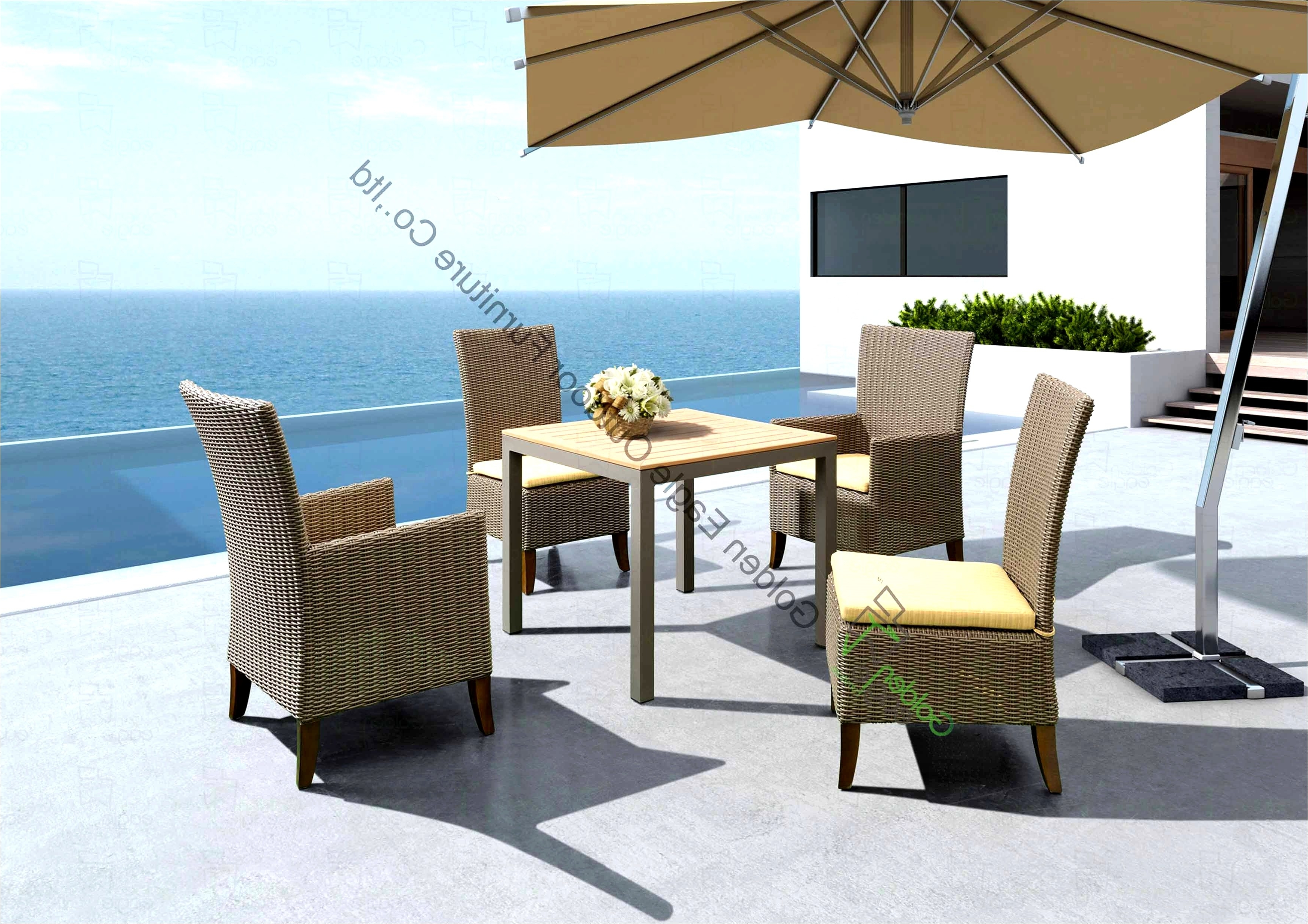 Famous High End Patio Umbrellas Throughout Patio Umbrella The Bay New High End Outdoor Furniture Beautiful Wood (View 8 of 20)