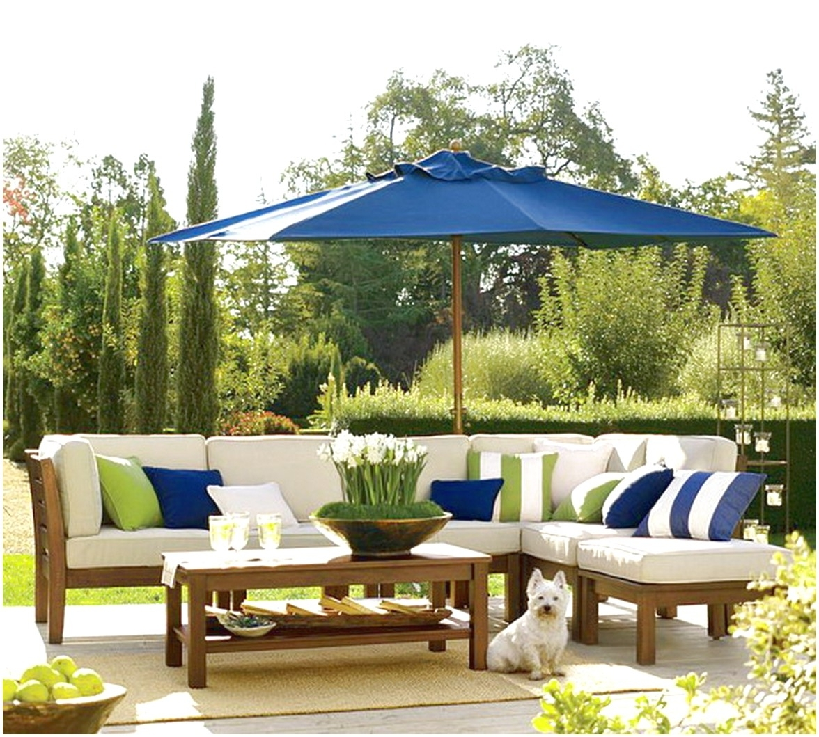 Famous Outdoor Patio Furniture With Blue Patio Umbrella : Surprising Design Throughout Blue Patio Umbrellas (View 8 of 20)