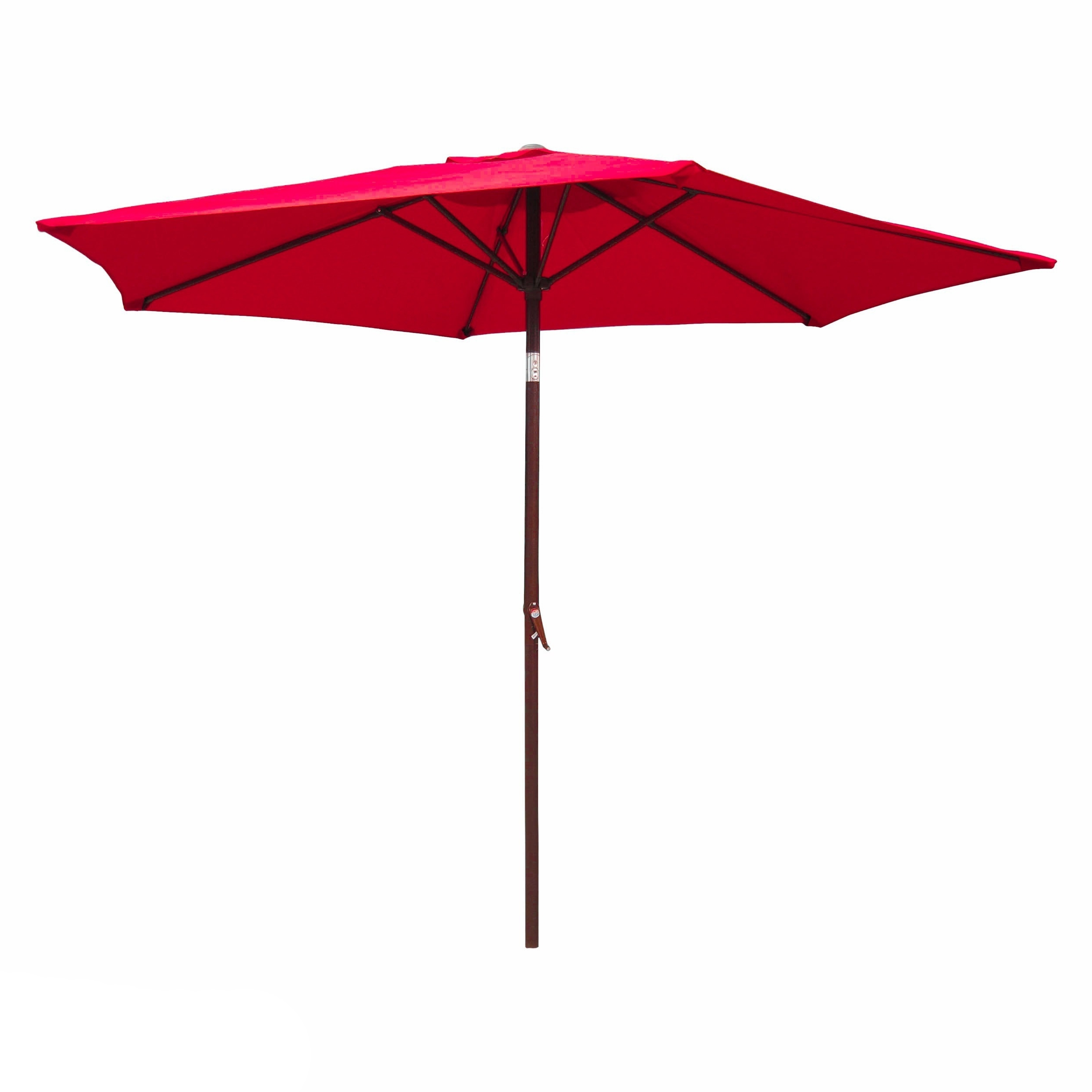 Famous Shop International Caravan Patio Umbrella 8 Foot – On Sale – Free With Pink Patio Umbrellas (View 19 of 20)