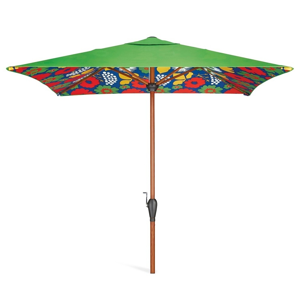 Famous Target Patio Umbrellas Regarding Garden: Enchanting Outdoor Patio Decor Ideas With Patio Umbrellas (View 15 of 20)