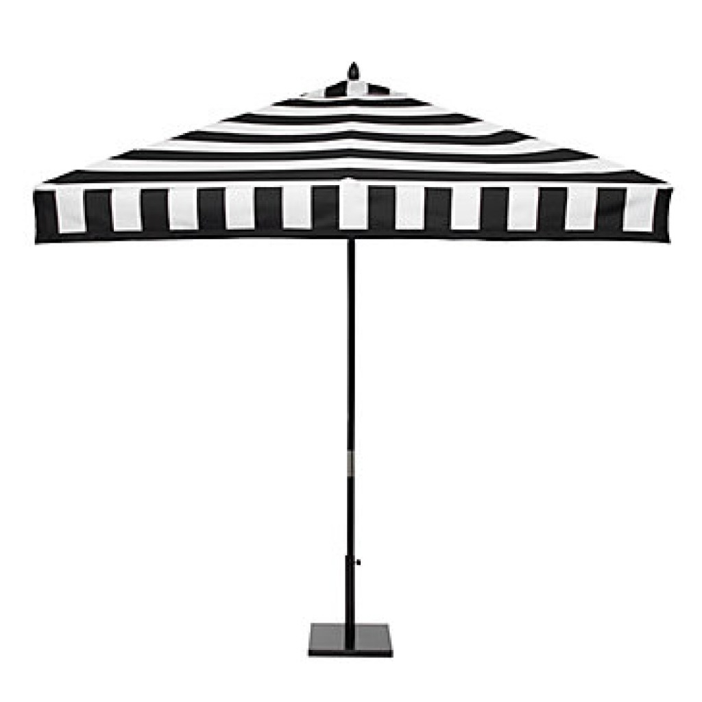 Fashionable Black And White Striped Patio Umbrellas With Regard To 45 Black And White Striped Patio Umbrella, Striped Umbrella Ebay (View 11 of 20)