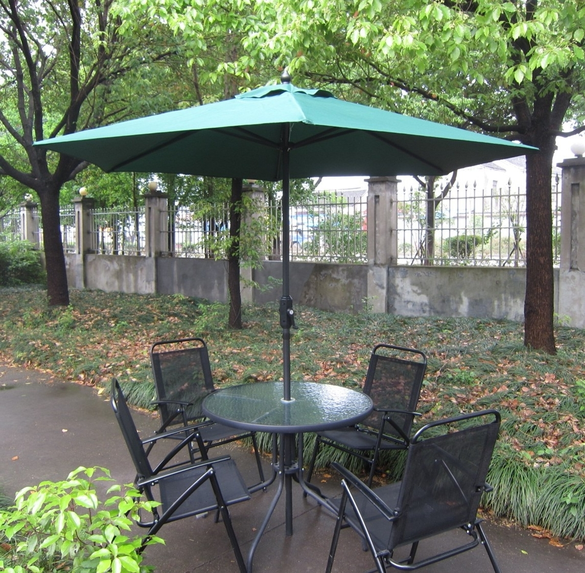 Fashionable European Patio Umbrellas Regarding European Umbrella Outdoor Umbrellas Uv Sun Base Iron Pillar Holder (View 11 of 20)