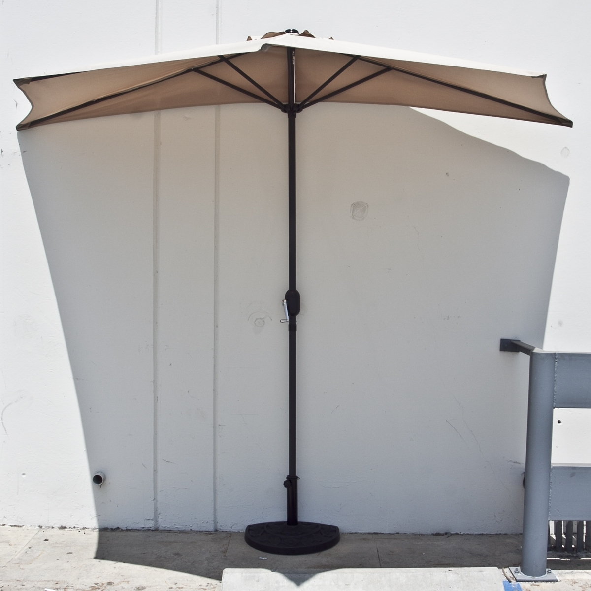 Fashionable Half Patio Umbrellas Inside Dailyselections (View 5 of 20)