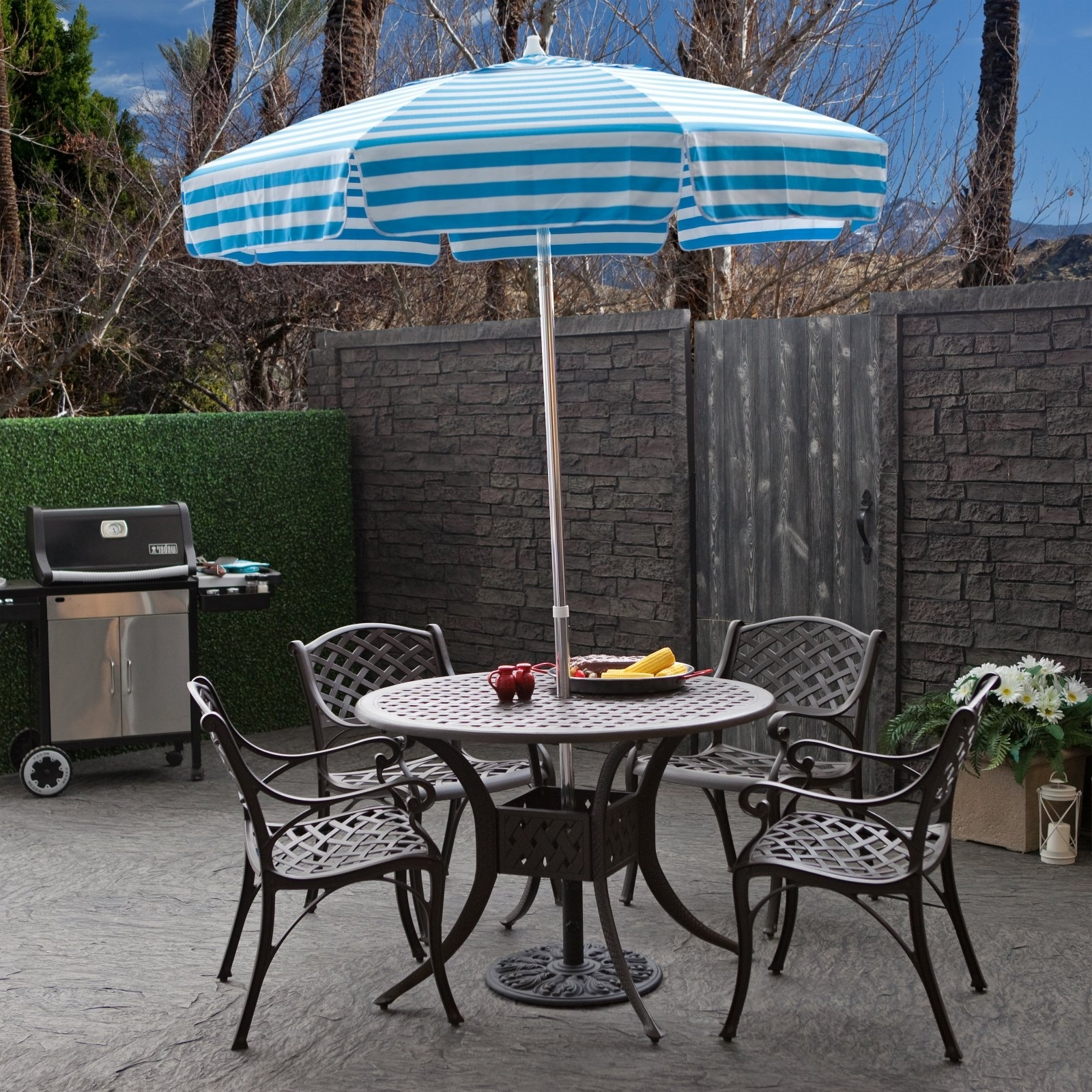 Fashionable Unusual Patio Umbrellas Inside Best Offset Patio Umbrellas Target Js On Home Decorating Pertaining (View 5 of 20)