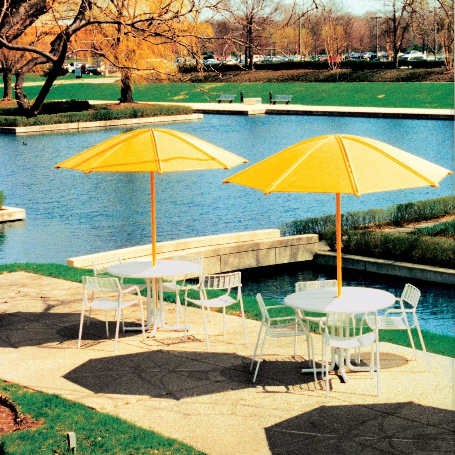 Favorite Commercial Patio Umbrellas For Commercial Patio Umbrella / Metal / Wind Resistant – Solstice (View 20 of 20)