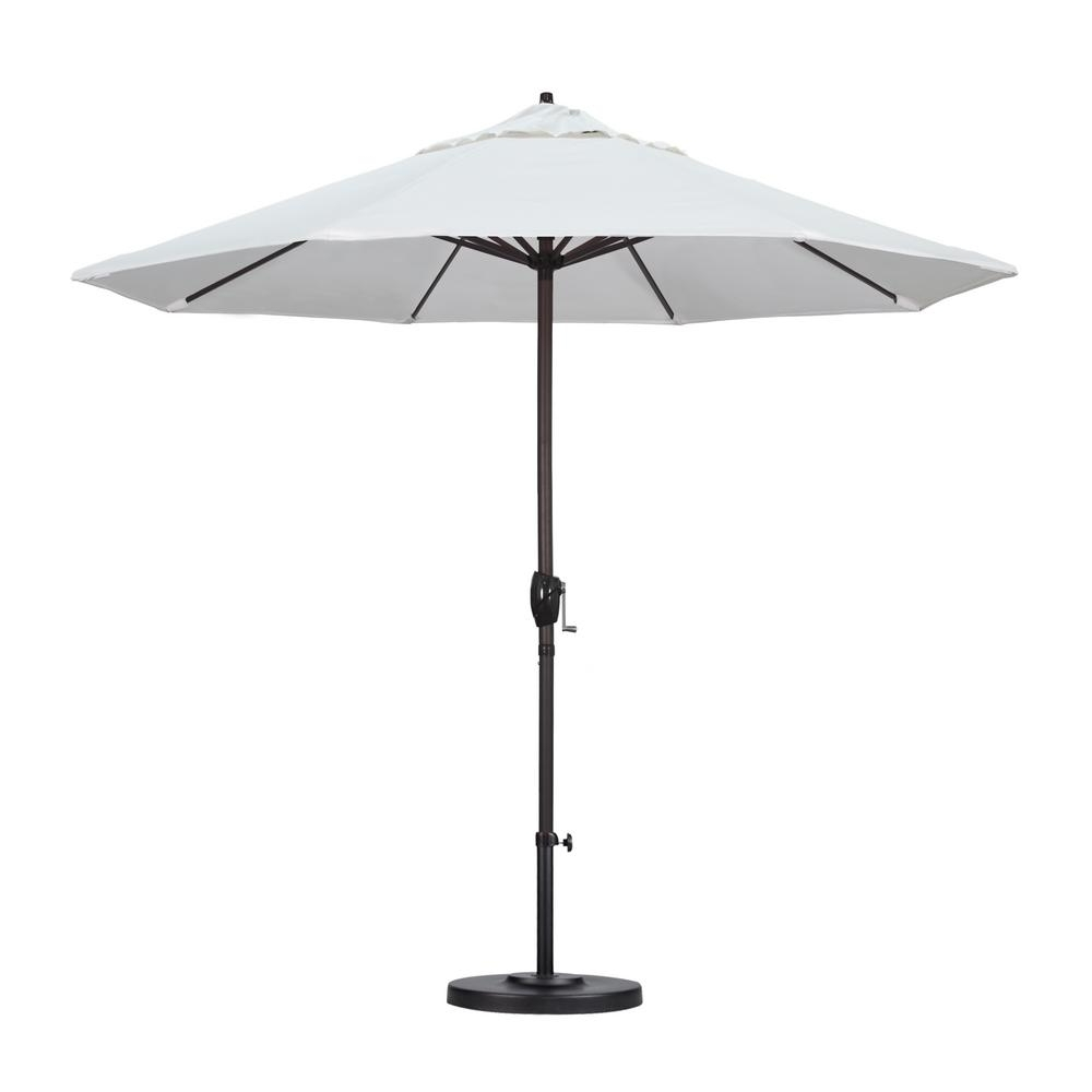 Favorite Home Depot Patio Umbrellas Inside California Umbrella 9 Ft (View 3 of 20)