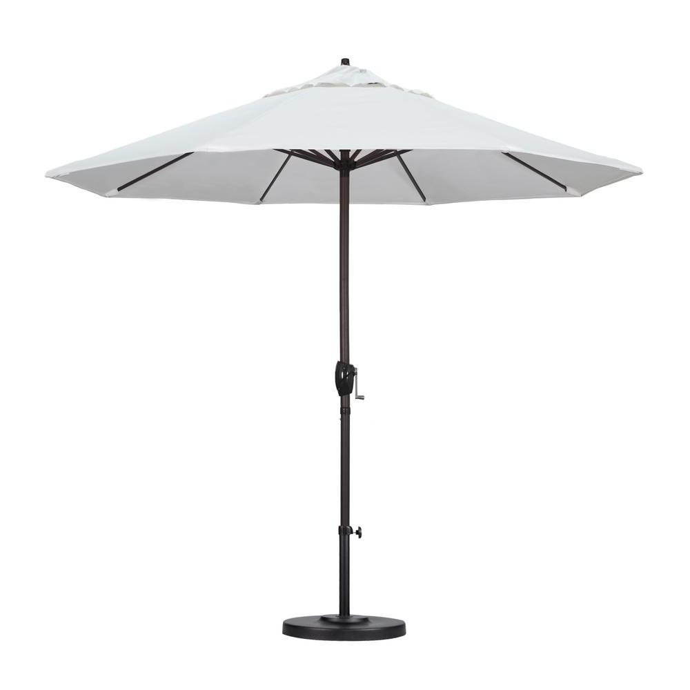 Favorite Home Depot Patio Umbrellas Inside California Umbrella 9 Ft (View 11 of 20)