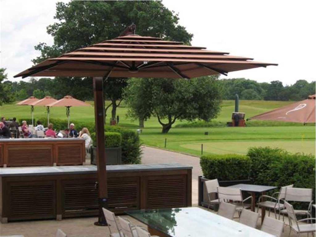 Favorite Offset Patio Umbrellas Inside Nice Offset Patio Umbrellas — Wilson Home Ideas : Outdoor Offset (View 4 of 20)