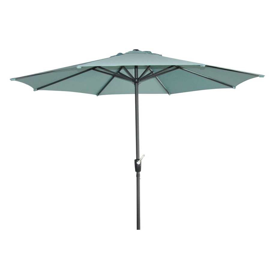 Favorite Shop Garden Treasures Patio Umbrella (common: 105 In W X 105 In L With Regard To Garden Treasures Patio Umbrellas (View 5 of 20)
