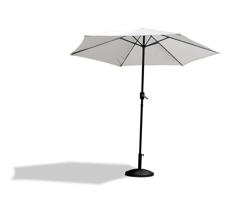 Fine Living – Vogue Patio Umbrella – White (View 19 of 20)