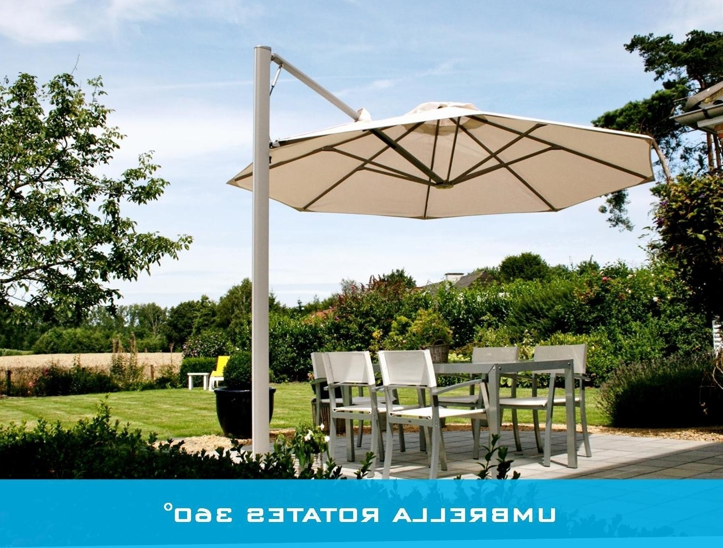 Flowy Wind Resistant Patio Umbrella Australia F26x In Stylish Home Throughout Latest Patio Umbrellas For Windy Locations (View 12 of 20)