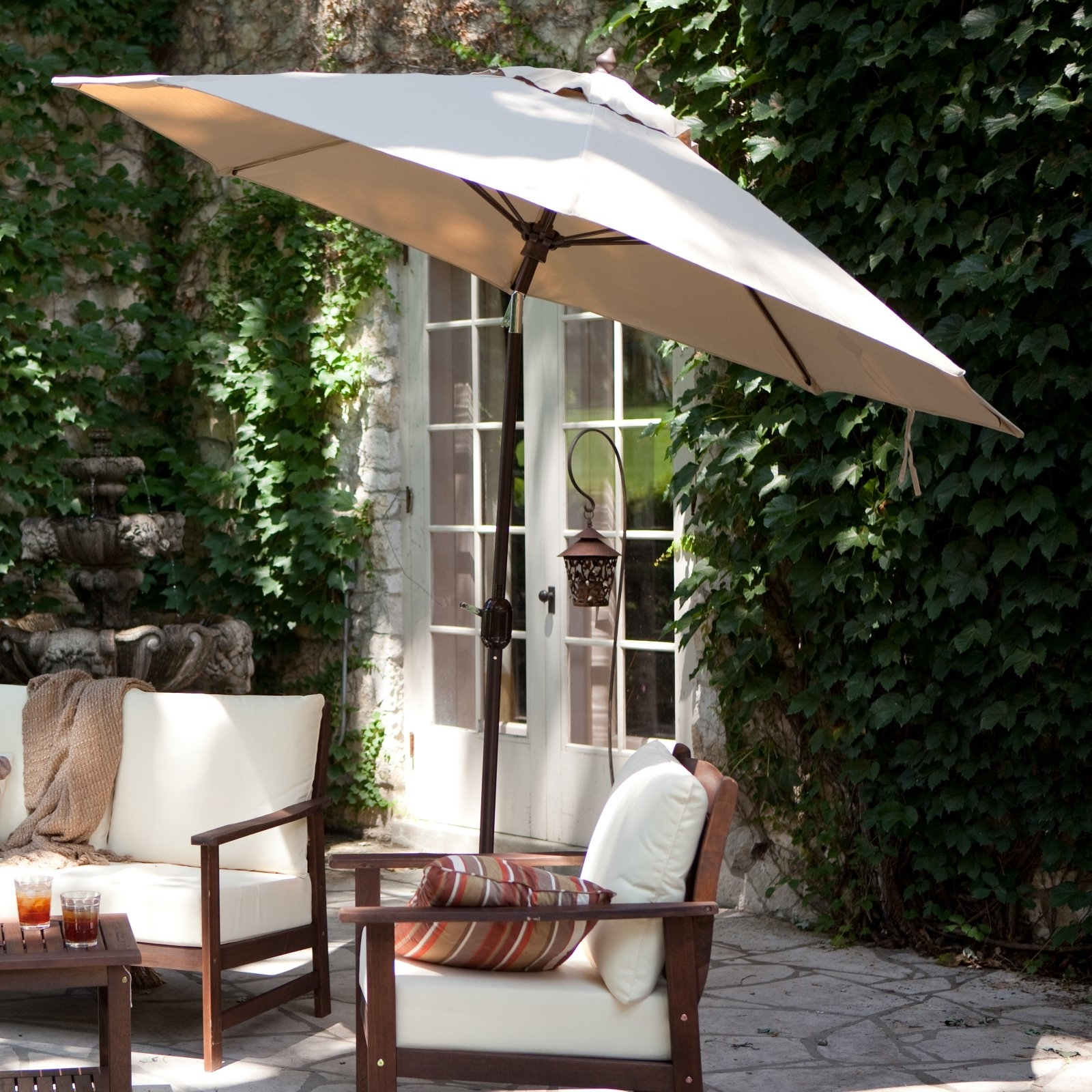Featured Photo of Free Standing Patio Umbrellas