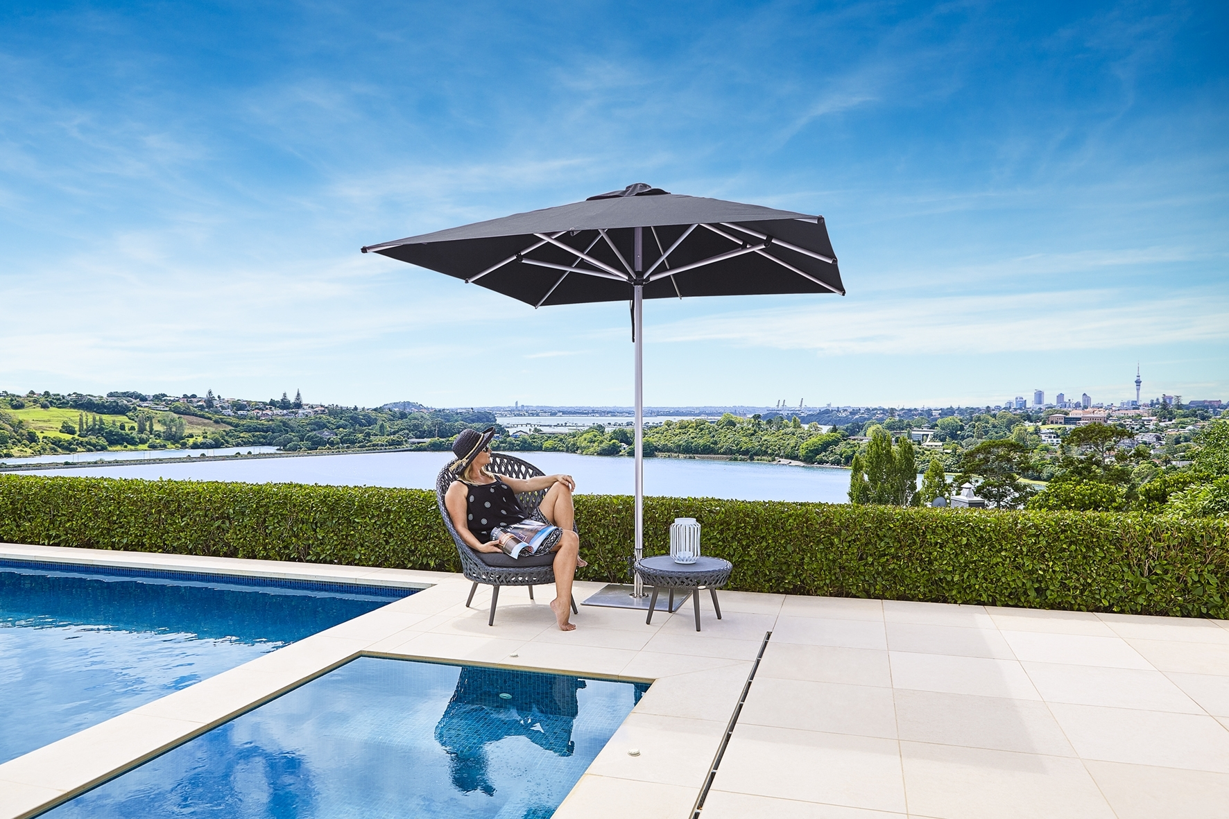 Gold Coast Patio Umbrellas Regarding Fashionable Monaco – Paradise Shade Umbrellas – Outdoor Umbrellas (Gallery 9 of 20)