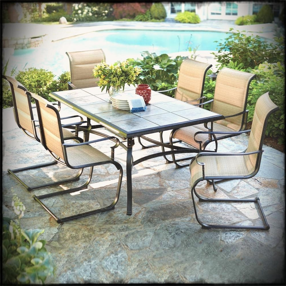 Goplus Piece Rattan Patio Furniture Set In Wicker Found Here On Full With Fashionable Wayfair Patio Umbrellas (View 5 of 20)
