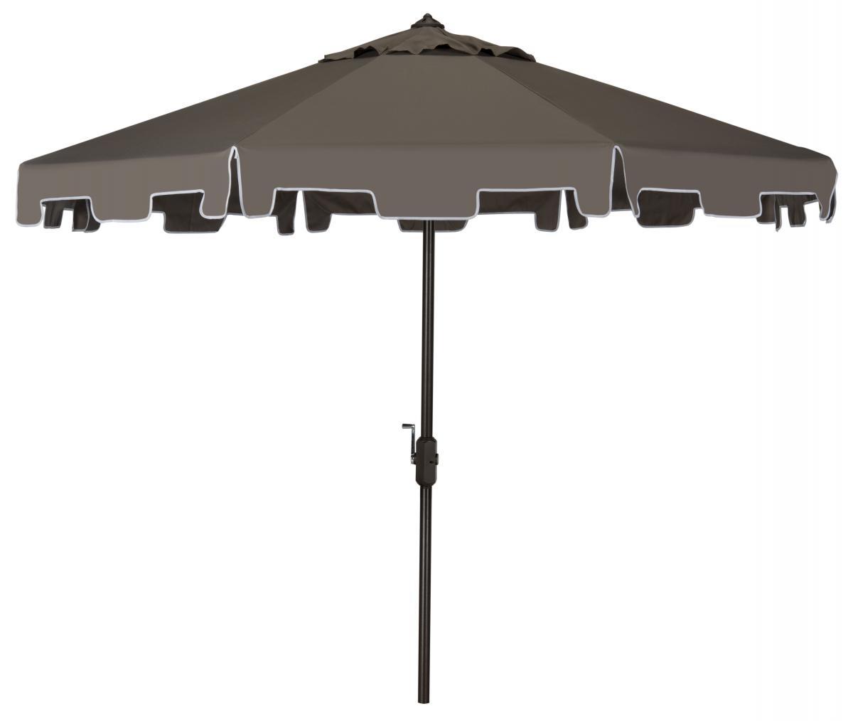 Grey Patio Umbrella (Gallery 6 of 20)