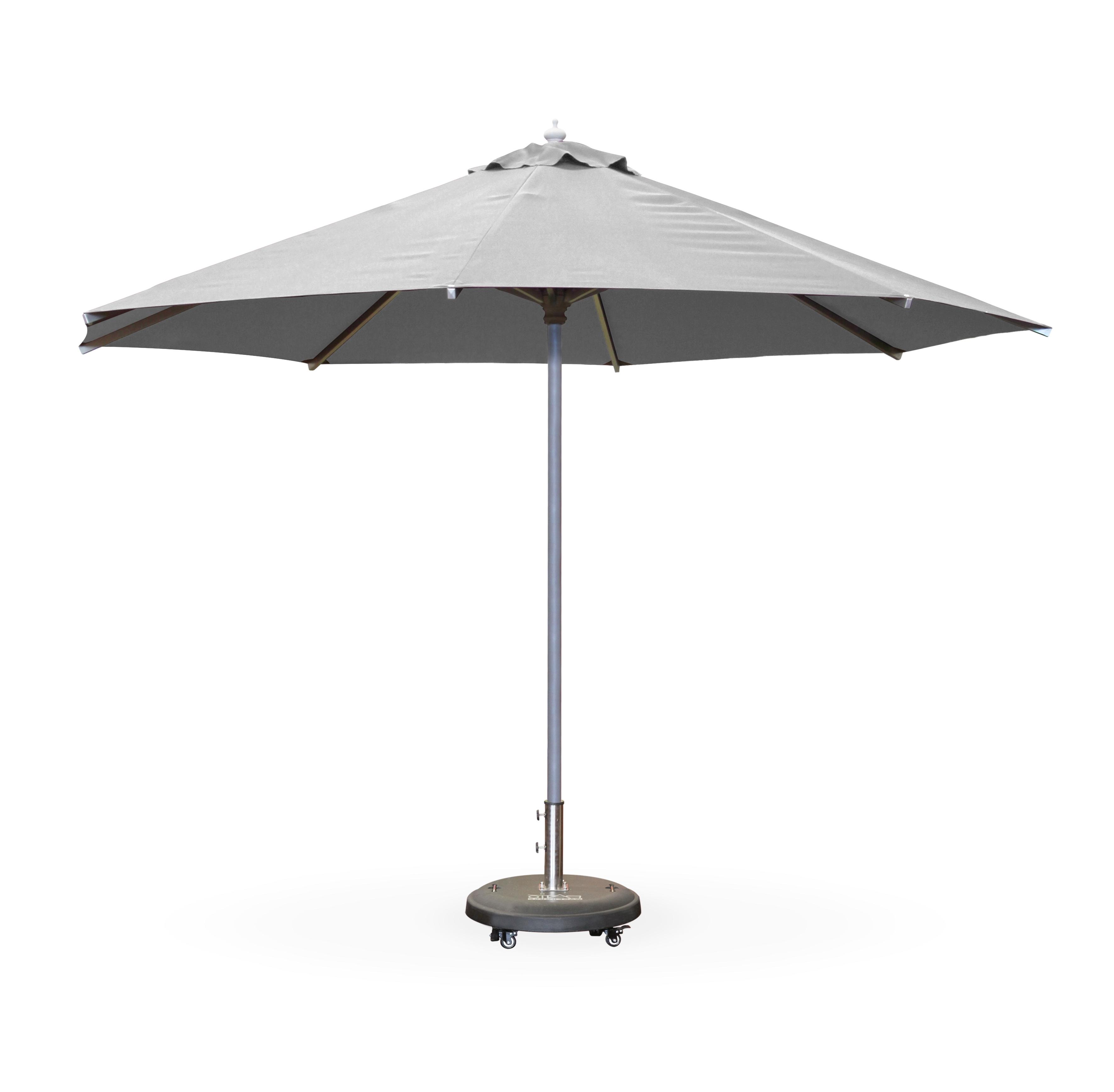Grey Patio Umbrellas Regarding Widely Used  (View 8 of 20)
