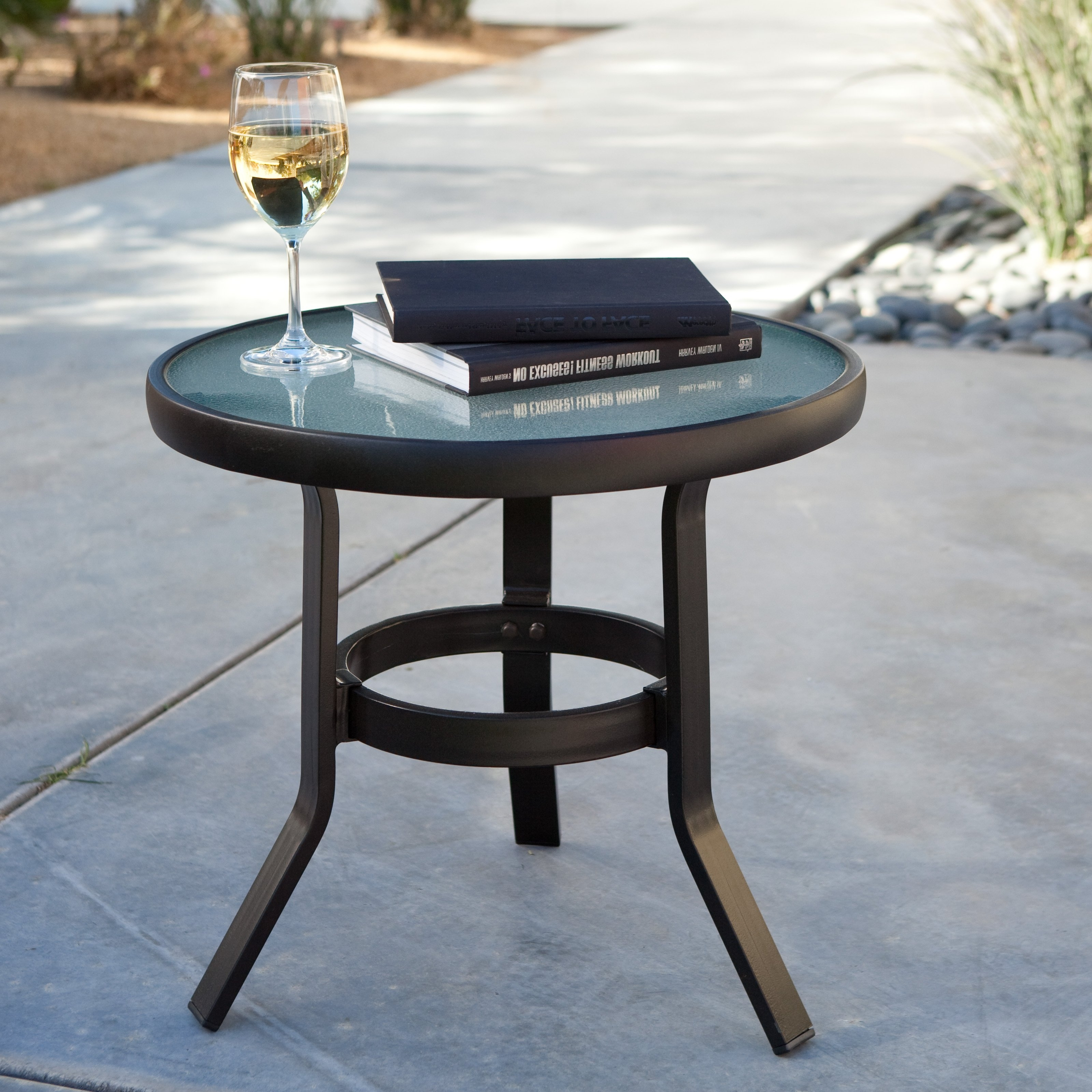 Featured Photo of Patio Umbrellas With Accent Table