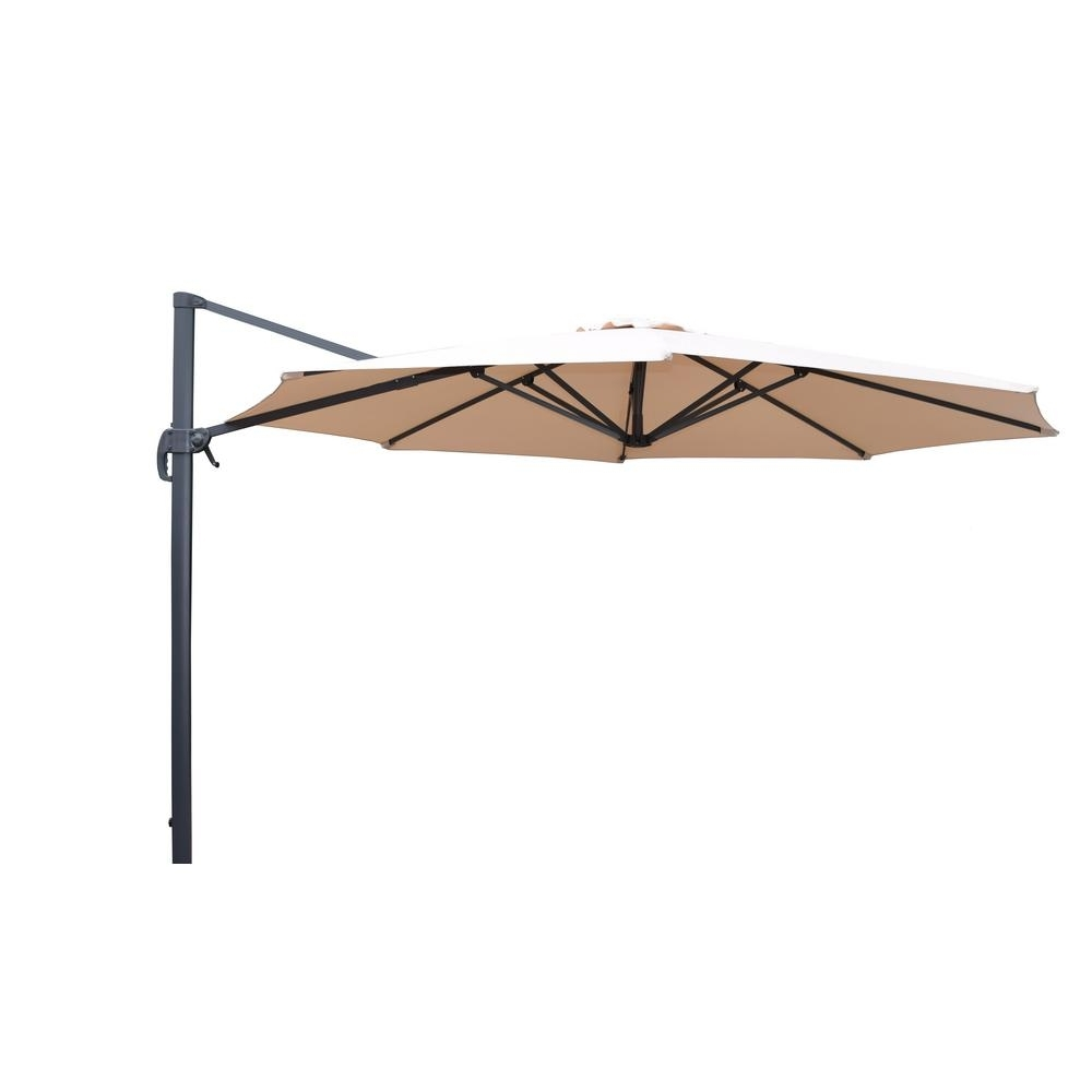 Home Depot Patio Umbrellas For Well Known 11 Ft (View 17 of 20)