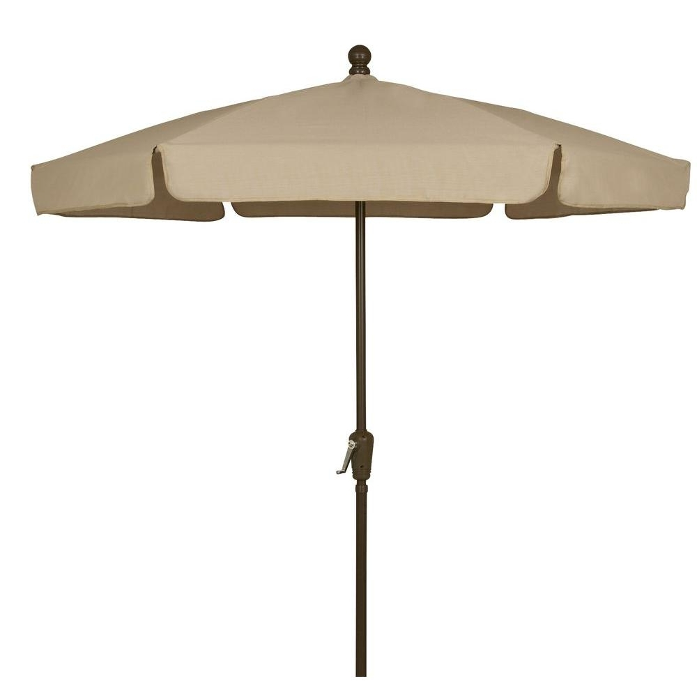 Home Depot Patio Umbrellas Within Current Fiberbuilt Umbrellas 7.5 Ft (View 3 of 20)