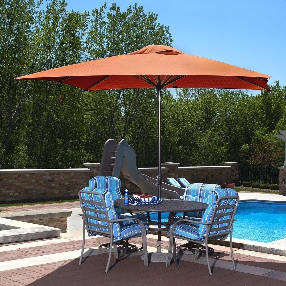 Island Umbrella Caspian 8 Ft. X 10 Ft (View 9 of 20)
