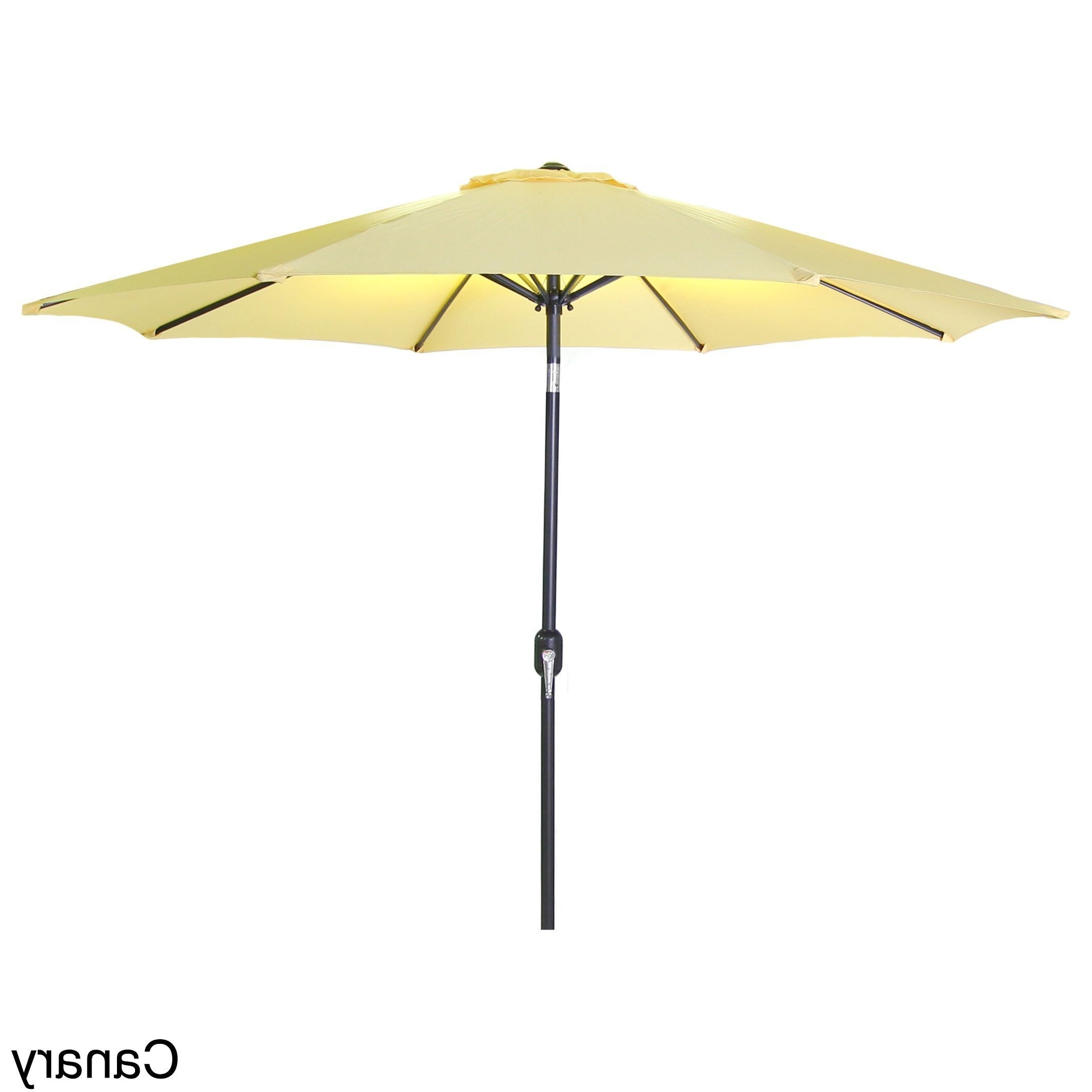 Jordan Patio Umbrellas Pertaining To Most Popular Jordan Manufacturing 7.5 Foot Steel Market Umbrella (Black), Size (Gallery 5 of 20)