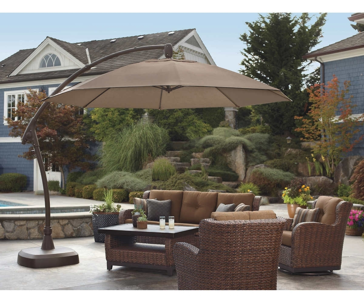 Jordan Patio Umbrellas Regarding Widely Used Cozy Brown Jordan Outdoor Furniture Stands Test Then Style To (Gallery 14 of 20)