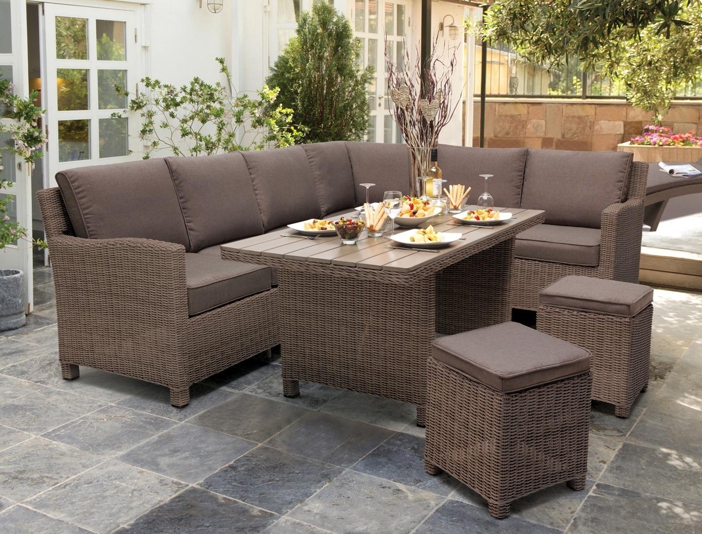 Kettler Palma Corner Set – Kettler Furniture – Patio Furniture For Most Popular Krevco Patio Umbrellas (View 4 of 20)