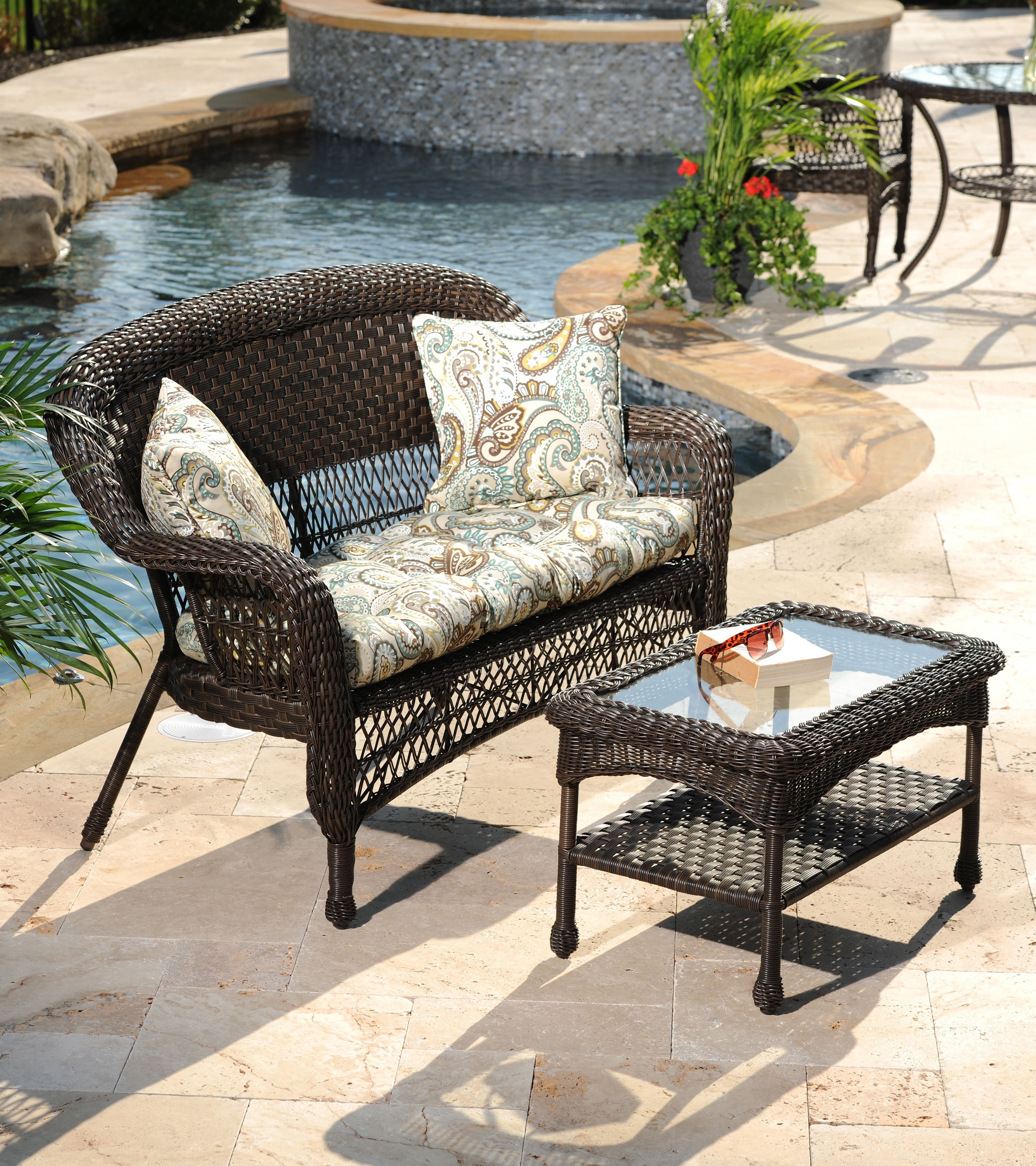 Kirkland Patio Umbrellas Within Most Recently Released Concrete Patio Furniture Table Set New Ac 298 C 286 296 61 Modern (View 12 of 20)