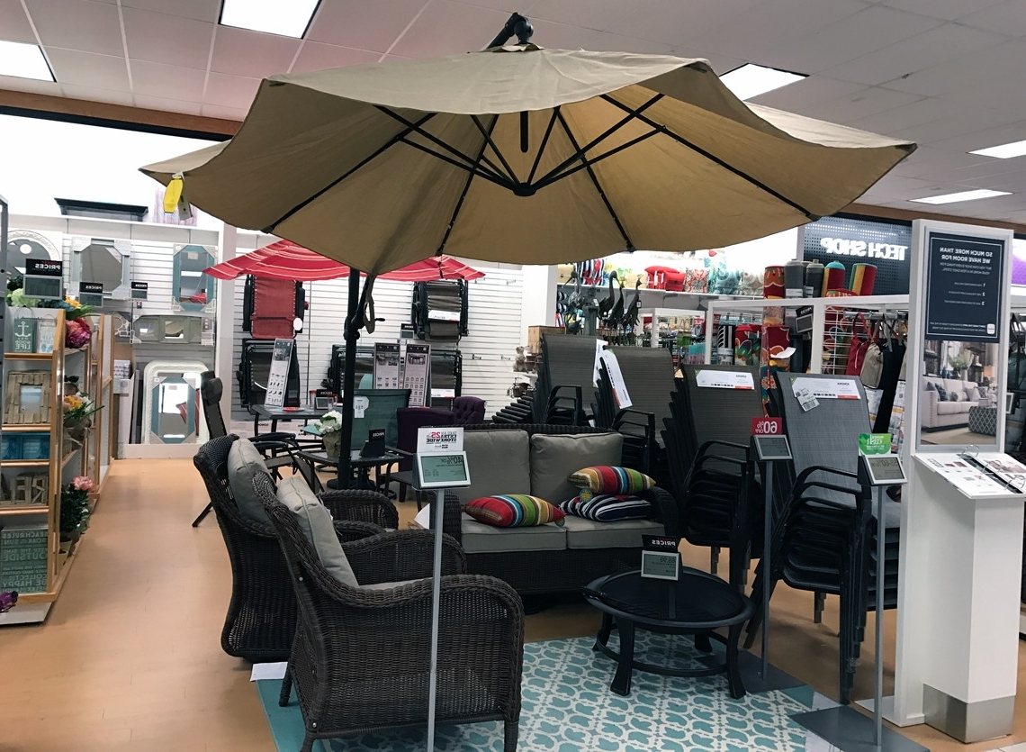 Kohls Patio Umbrellas Throughout 2018 Sonoma Patio Umbrella, As Low As $33.99 At Kohl's! – The Krazy (Gallery 14 of 20)