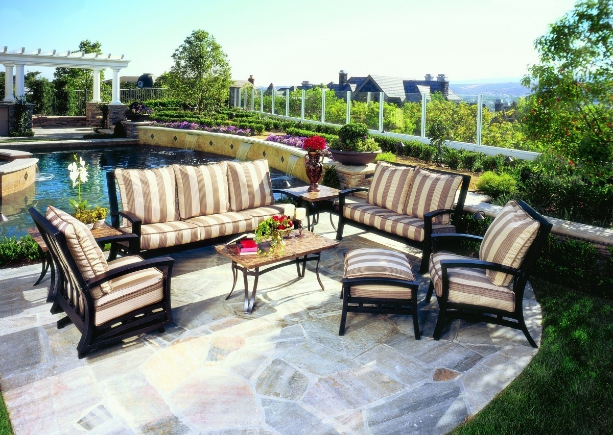Krevco Patio Umbrellas In Most Recently Released Mallin Atlantis Cushion Collection – Mallin Patio Furniture – Patio (View 6 of 20)