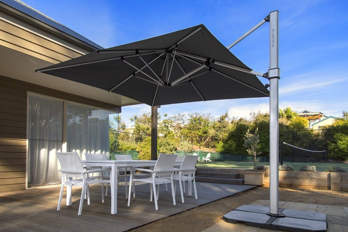 Large Outdoor Umbrellas And Shades – Review Gold Coast (View 12 of 20)