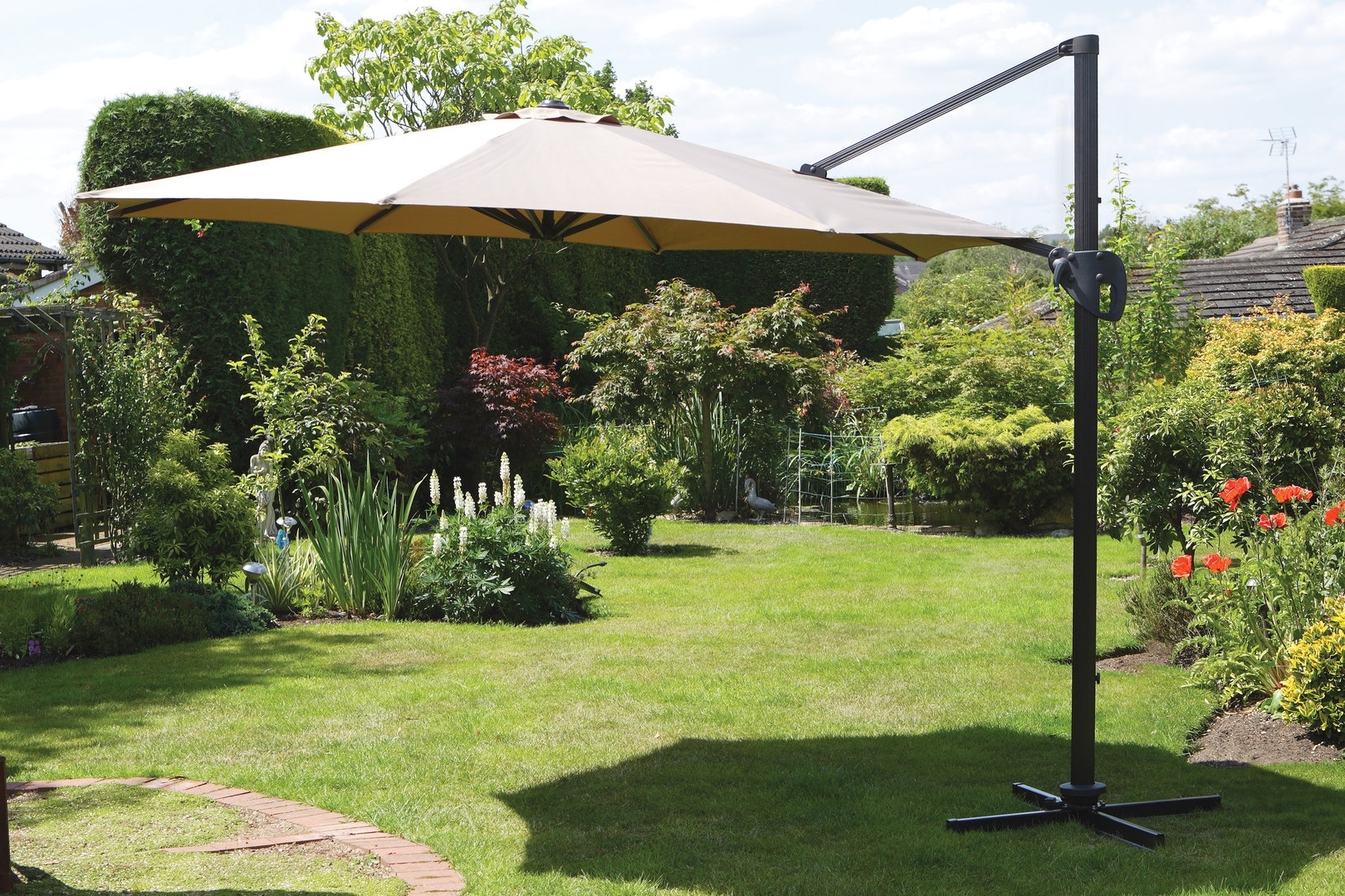 Large Patio Umbrellas Ideas — Wilson Home Ideas : Stylish Large For Famous Giant Patio Umbrellas (View 11 of 20)