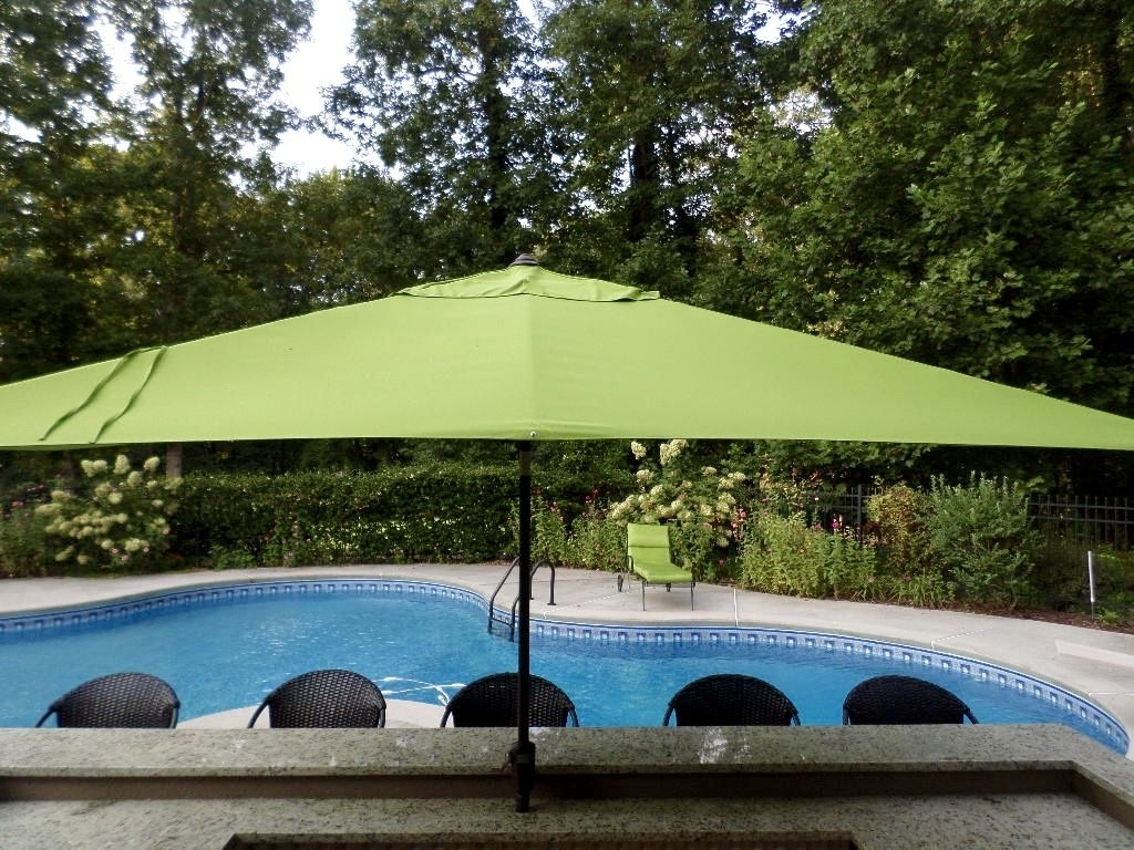 Large Patio Umbrellas Intended For Well Liked Outdoor Umbrellas – Your Guide To Selecting A Patio Umbrella (View 6 of 20)