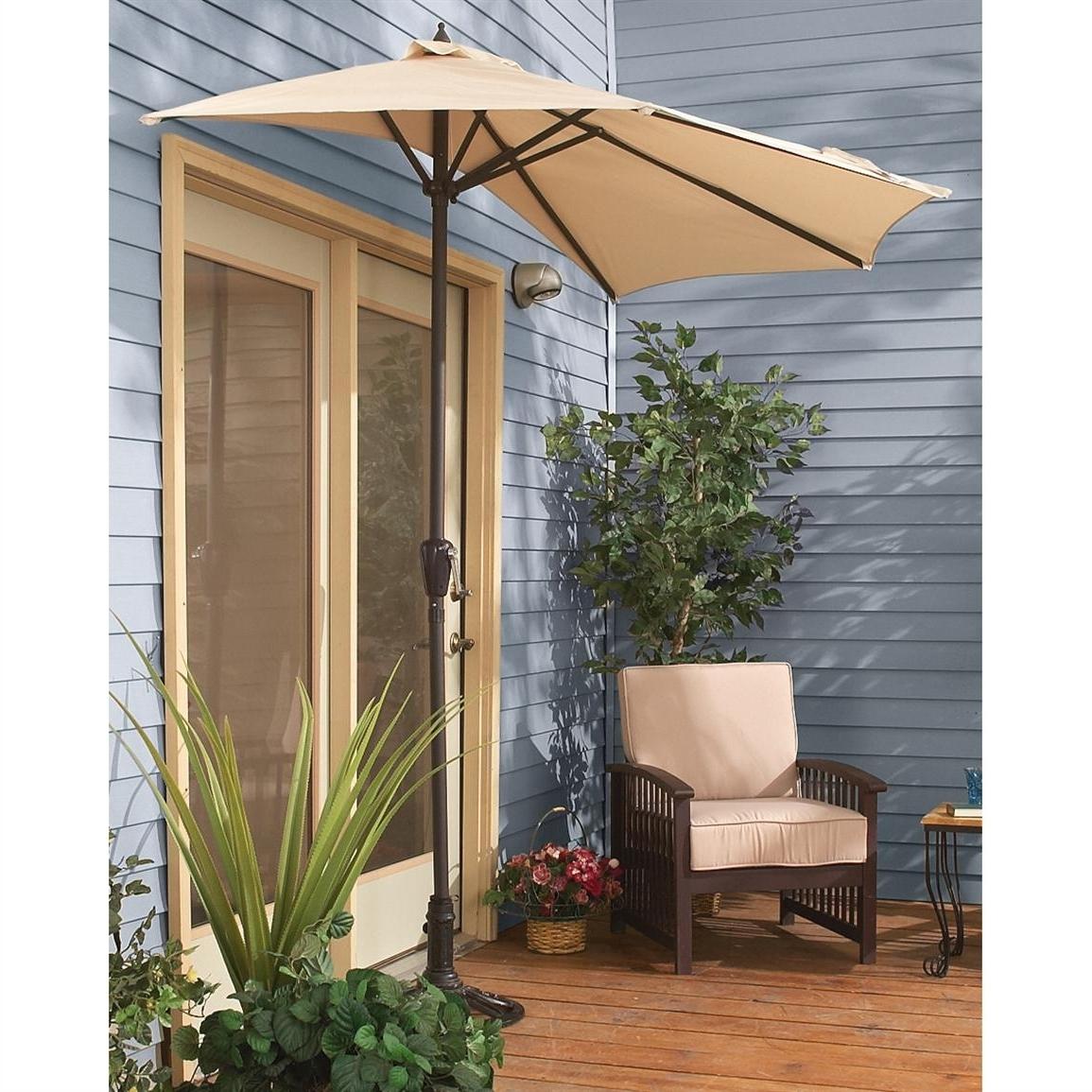 Latest Small Patio Umbrellas For Small Patio Umbrella Canada Small Patio Umbrella For Bistros (View 7 of 20)