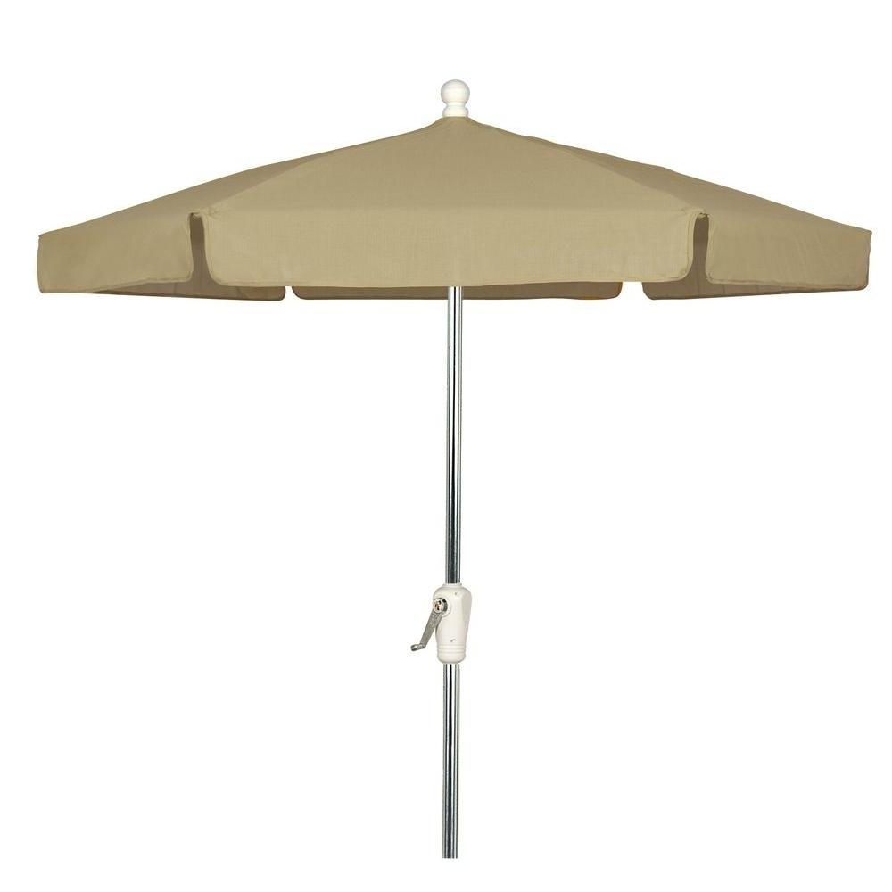 Latest Vinyl Patio Umbrellas Pertaining To 7.5 Ft (View 10 of 20)