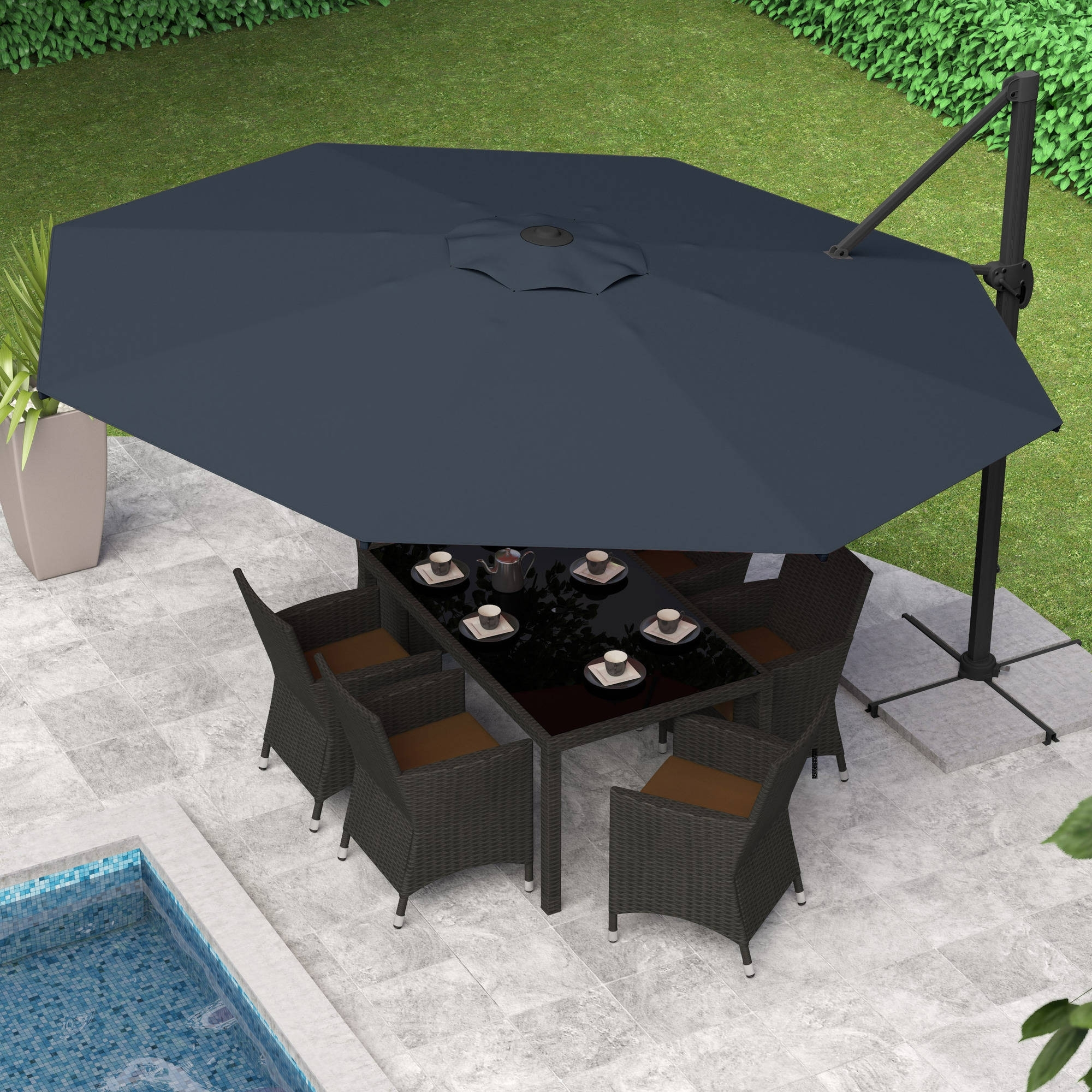 Latest Wayfair Patio Umbrellas Within 17 New Wayfair Patio Furniture Ideas Of Wayfair Outdoor Furniture Sale (View 14 of 20)