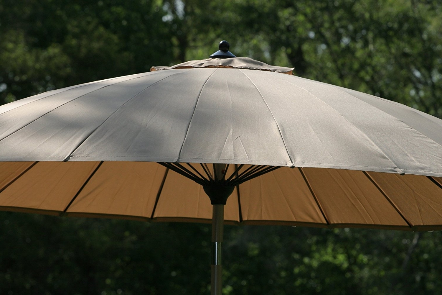 Latest Wind Resistant Patio Umbrellas Intended For Wind Resistant Patio Umbrella F68X In Wow Small Home Decoration (View 10 of 20)