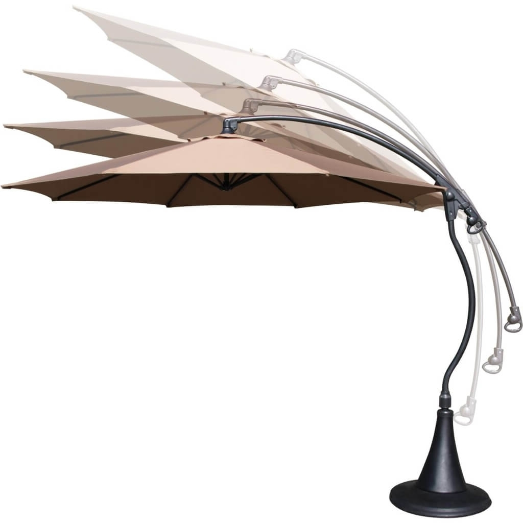 Lowes Offset Patio Umbrellas In Preferred Patio: Setting Your Patio Decoration With Lowes Patio Umbrella (View 5 of 20)