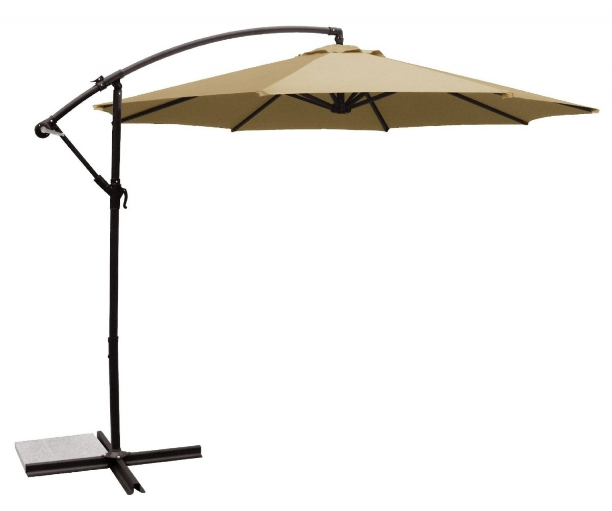 Lowes Offset Patio Umbrellas Inside Well Liked Patio: Setting Your Patio Decoration With Lowes Patio Umbrella (View 8 of 20)