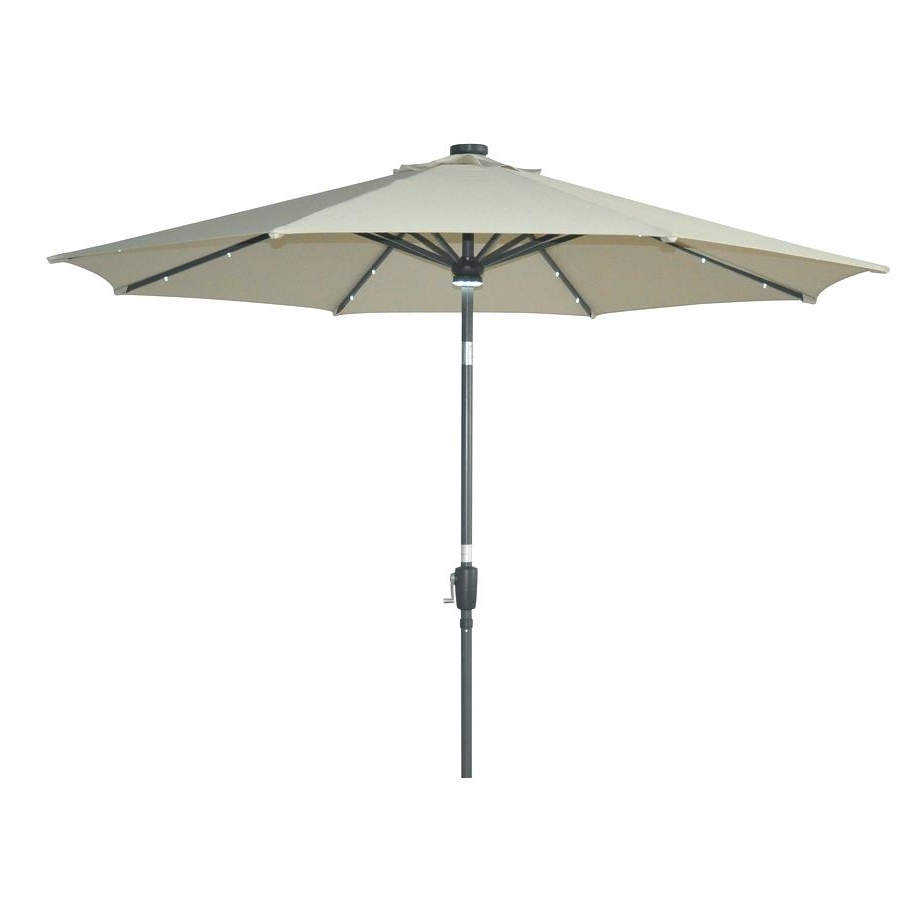 Lowes Patio Umbrella Replacement Canopy Parts Canada Regarding Famous Patio Umbrellas At Lowes (View 5 of 20)