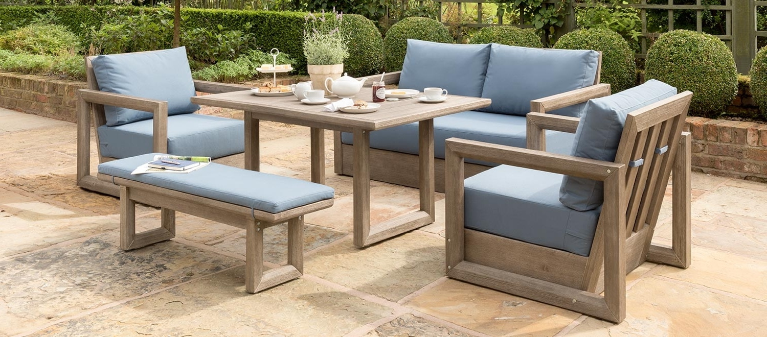 Luxury Wood Garden Furniture – Kettler Official Site (View 12 of 20)