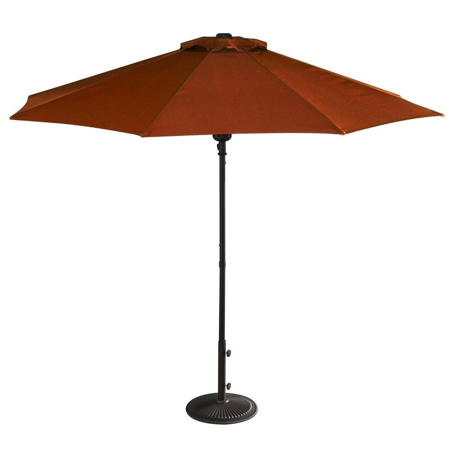 Marvelous Offset Patio Umbrellas Fiberbuilt Umbrellas Target Offset Regarding Recent Patio Umbrellas At Lowes (View 7 of 20)