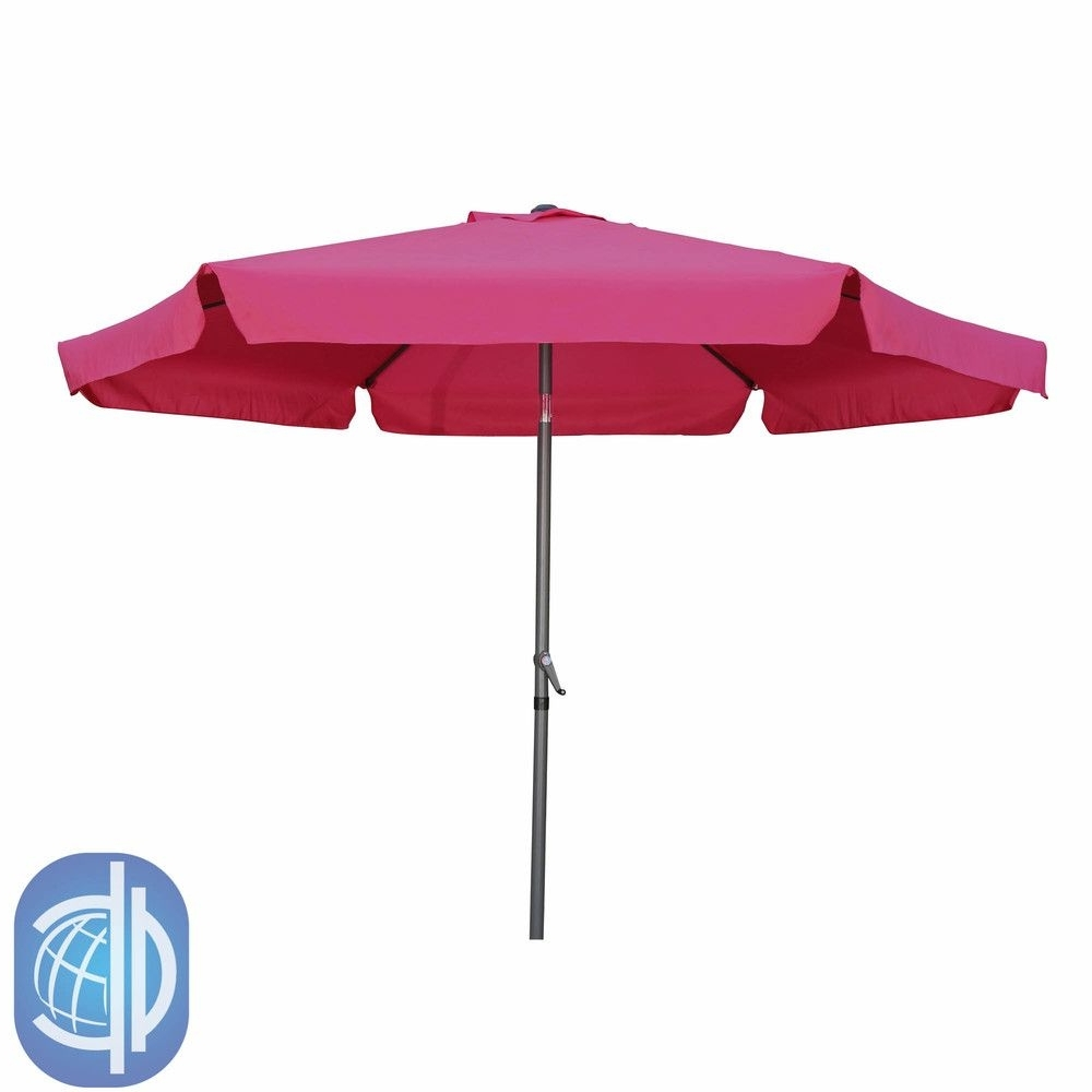 Most Current Pink Patio Umbrellas Intended For International Caravan St. Kitts Jumbo (View 15 of 20)
