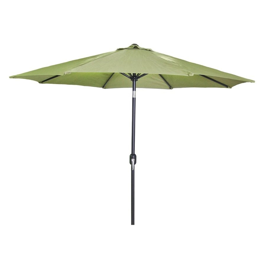 Most Current Shop Jordan Manufacturing Olive Market 9 Ft Patio Umbrella At Lowes Throughout Jordan Patio Umbrellas (View 10 of 20)